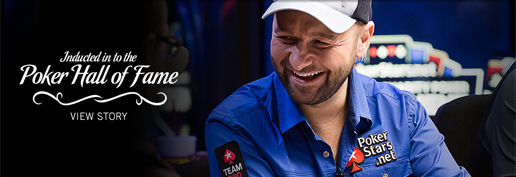 Daniel Negreanu inducted in to the Poker Hall of Fame